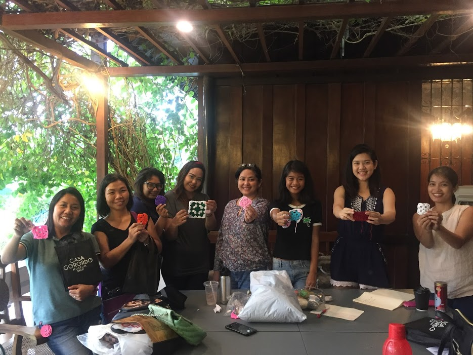 GANCHILLO at the AZOTEA: Crochet Workshop in Cebu
