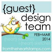Guest Design Team Member for From The Heart Stamps