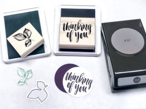 Nature's Poem Suite & Big Shot Embossing Mats