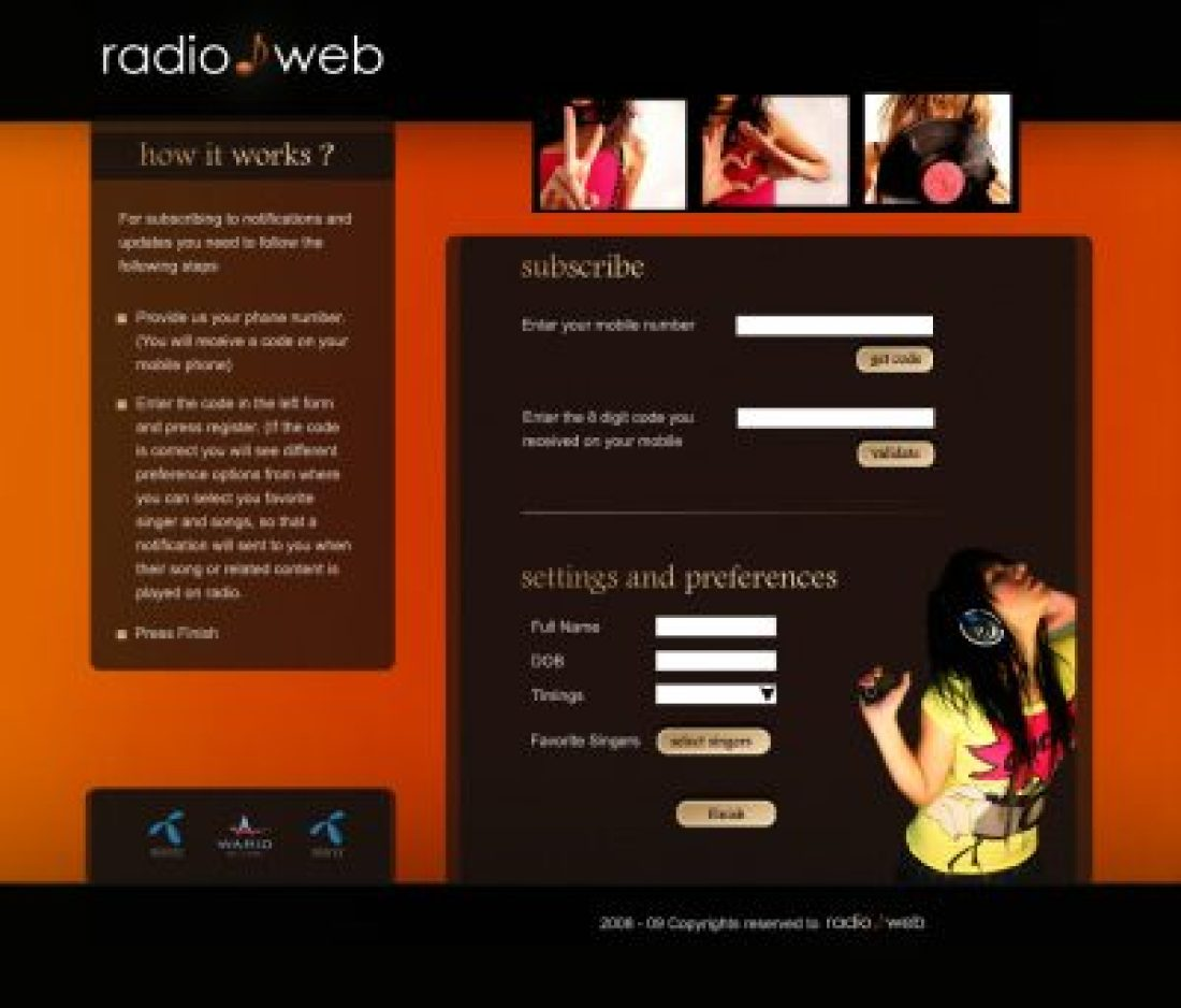 Interface for Radio Users