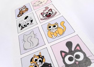 Kim Onyskiw - Original acrylic paintings, prints and cards, featuring cute little whimsical animals
