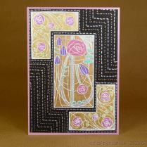 CR00278 Art deco roses