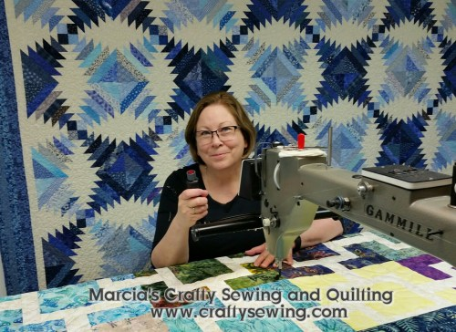My Longarm Quilting Machine