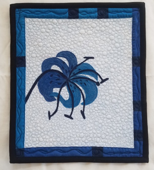 Blue Carolina Lily