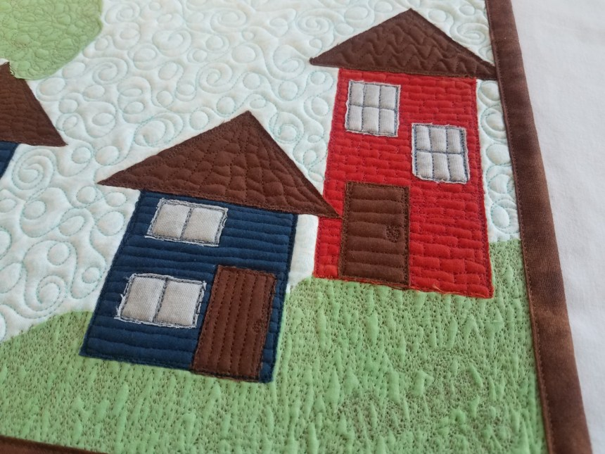 Little Houses up close