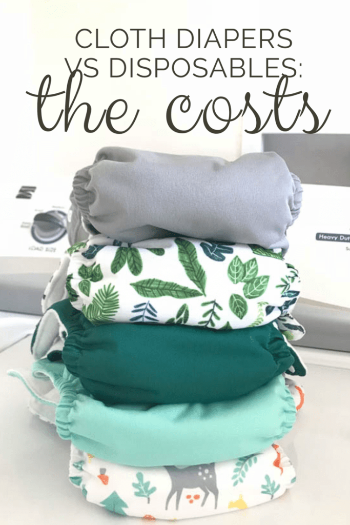 Cloth Diapers vs Disposables: the cost |   A breakdown of actual costs for cloth diaper users |  craftyteachermama.com