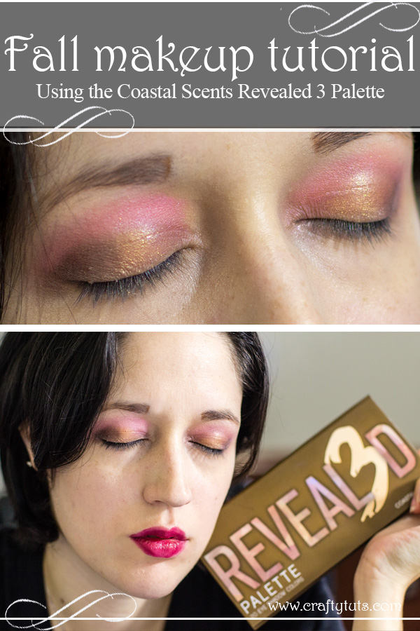 Fall Makeup tutorial coastal scents revealed 3 palette