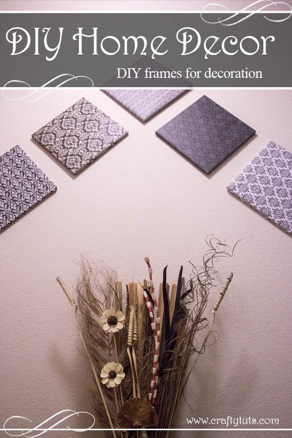Home Decor Frames. DIY Frames For Home Decor. Create your own custom wall art and decorate your home with something you made.