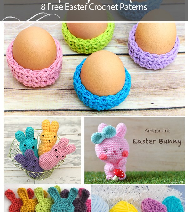 8 free crochet Easter patterns