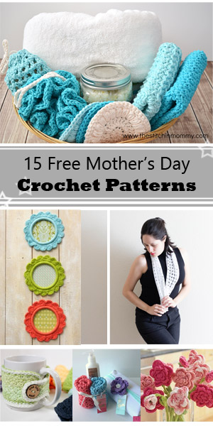 15 Free Mother's day crochet projects