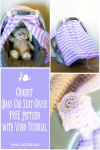 crochet carseat