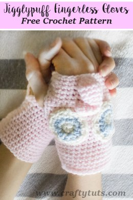 jigglypuff gloves pattern