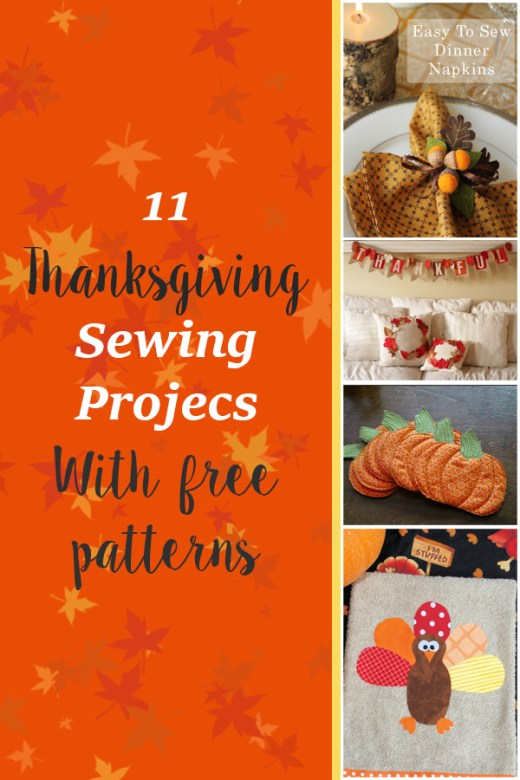 11 Thanksgiving Sewing Projects 4