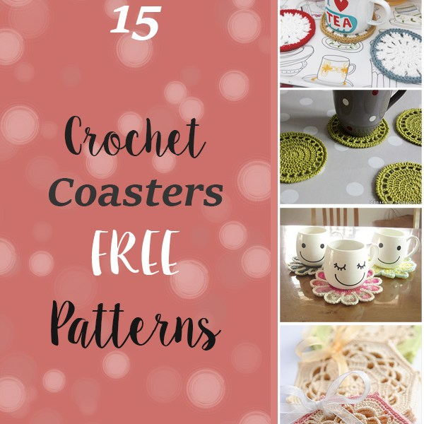 15 FREE Crochet Coaster Patterns