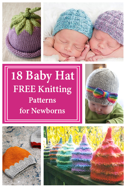Baby Hat Free Knitting Patterns For Newborns Crafty Tutorials