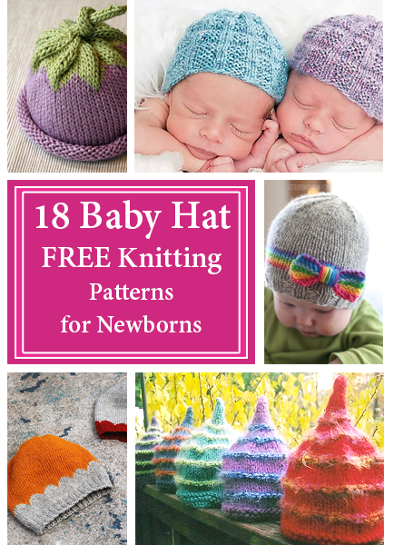 Baby Hat Free Knitting Patterns for Newborns