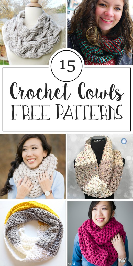 15 Free Patterns for Crochet Cowls 8