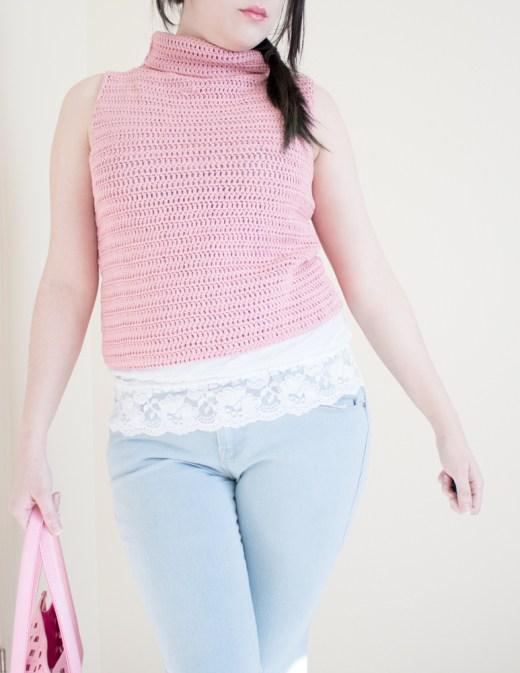 Basic Crochet Top Tutorial 1
