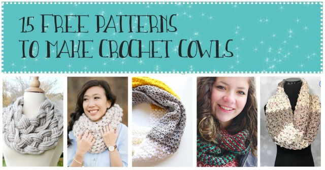 Free crochet patterns for cowls