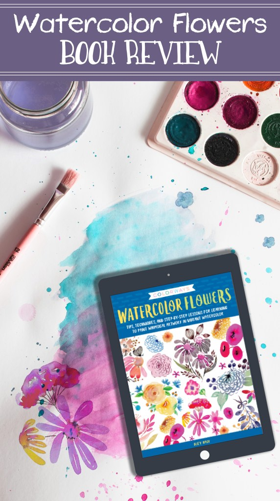 Colorways: Watercolor Flowers Book Review 5
