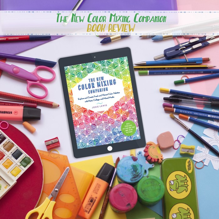 The New Color Mixing Companion Book Review 1