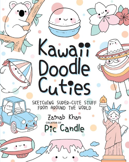 Kawaii Doodle Cuties Book Review 15