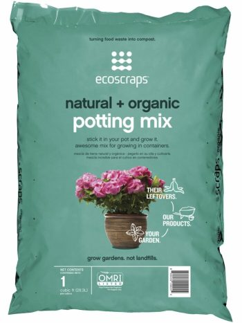 EcoScraps 32-Quart Organic Potting Soil Mix