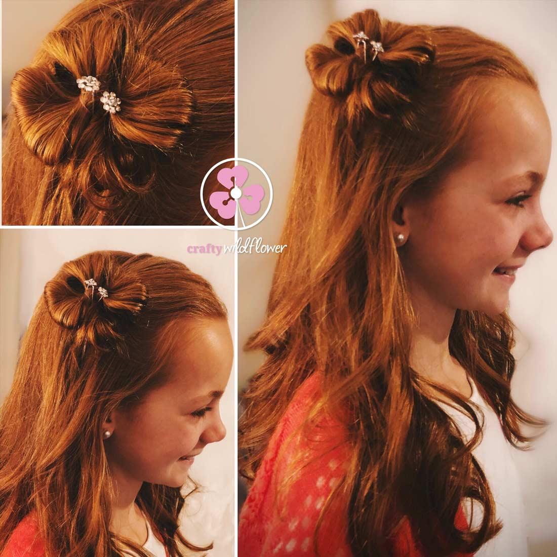 Hair Flower Tutorial – Tangled Thursday