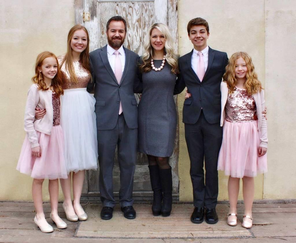 Susan Larsen and family