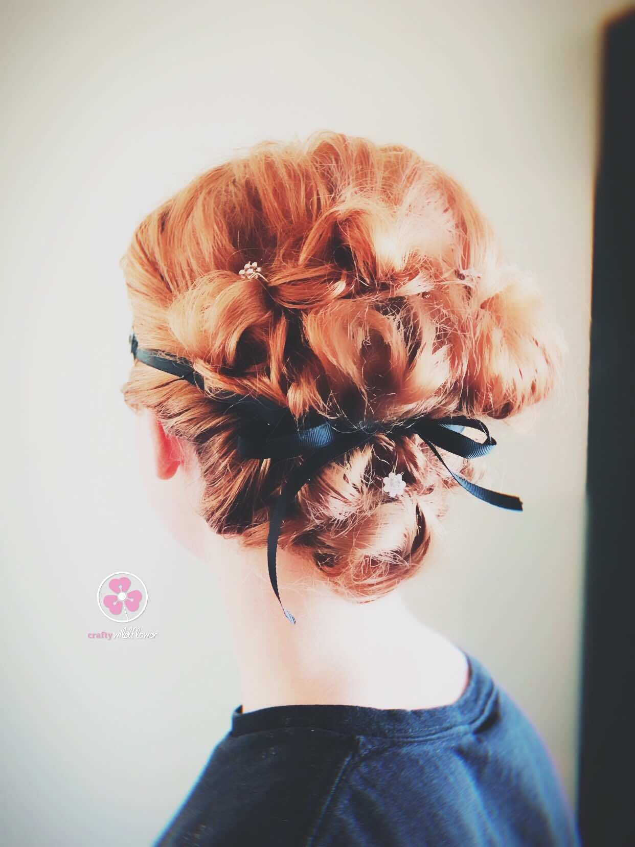 Tangled Thursday - Prom updo Masquerade
