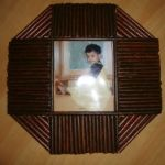 How to make Photo Frame using Recycled News Paper?