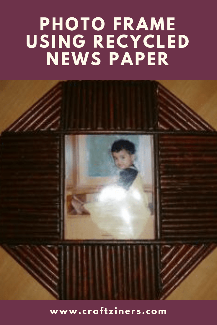 How to make a picture frame from recycled wood