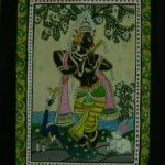 Patachitra on Paper – Sri Krishna