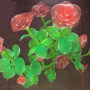 How to make Rose Flower using Stocking flower