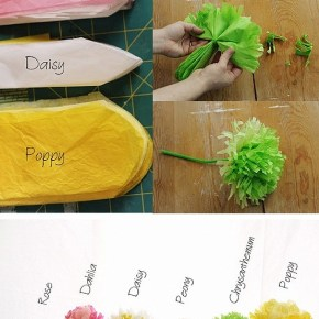 DIY Tissue Flower