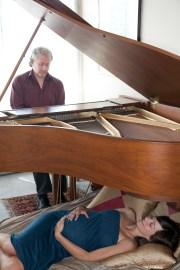 Under The Piano - by Rachel Lando