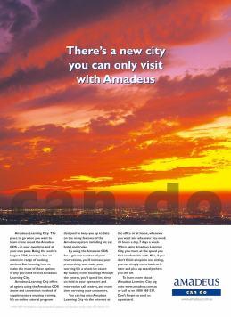 Amadeus - New CIty