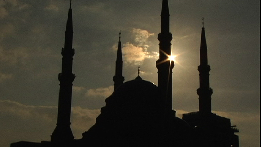 mosque in Beirutframegrab