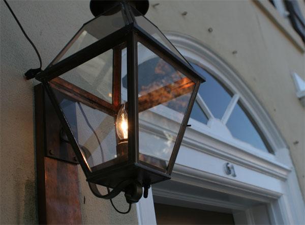 Door light in Princeton