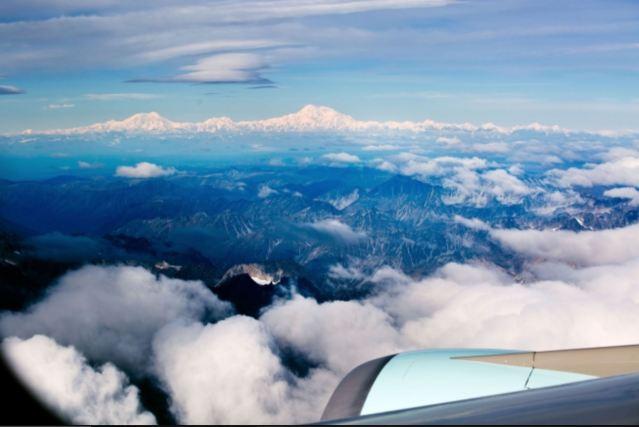 Denali above the clouds