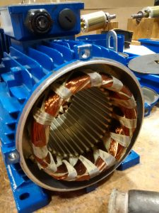 induction motor servicing tips