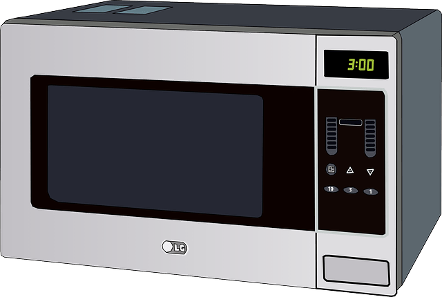 photo of microwave oven