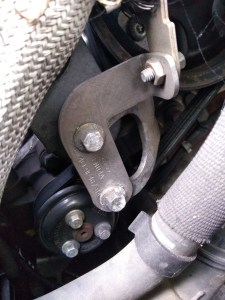 jaguar power steering pump with belt