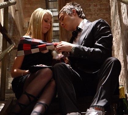 Jenny Humphrey and Chuck Bass