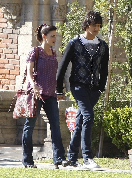 Jessica Lowndes as Adrianna and Michael Steger as Navid
