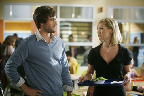 Ryan (ryan Eggold) and Kelly (Jennie Garth)