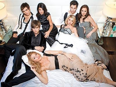 Chuck, Nate, Serena, Vanessa, Jenny, Dan, and Blair