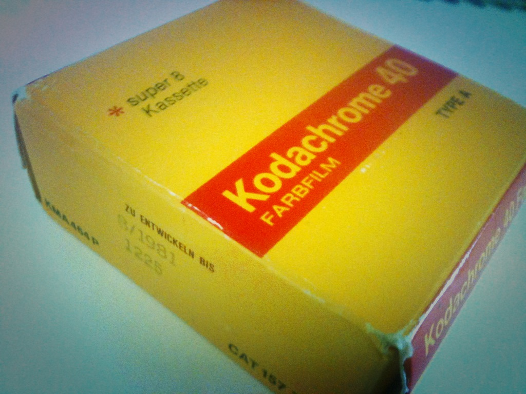 Kodachrome Super 8 Film