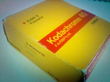 Kodachrome Super 8 Film