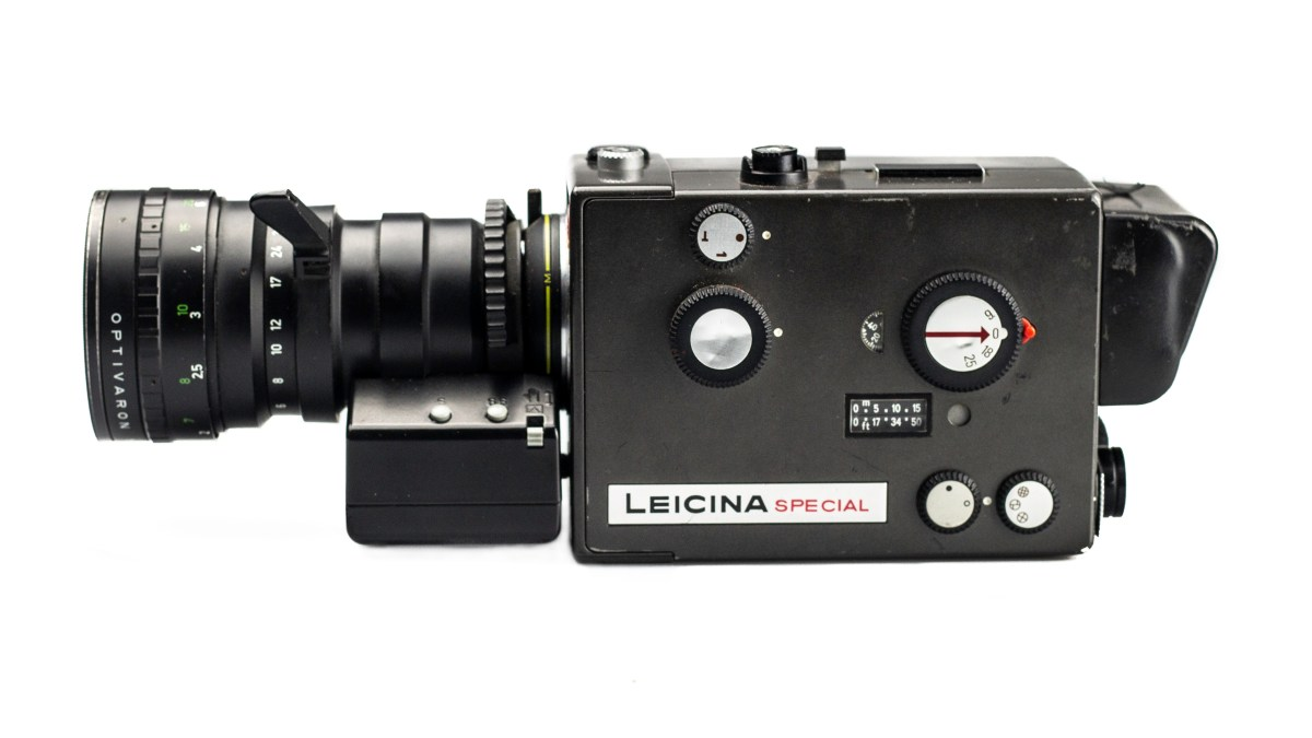 Leicina Special Super 8 Motion Picture Camera.